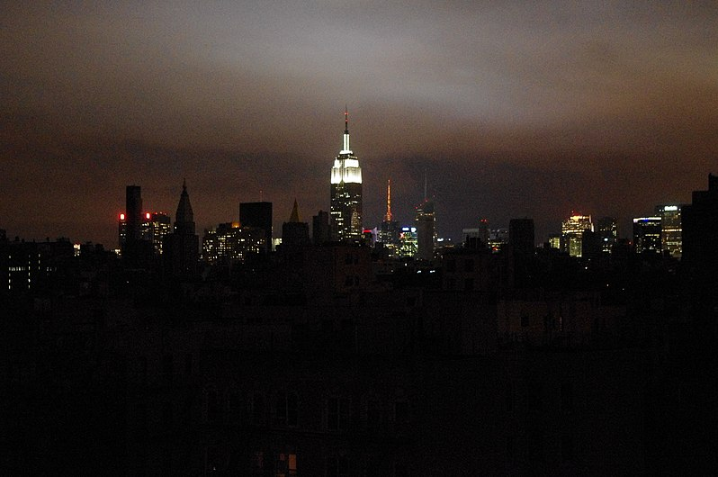 Hurricane Sandy New York Blackout 2012.JPG