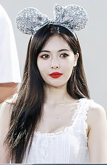 Hyuna at a fansigning event on July 22, 2018 (2).jpg