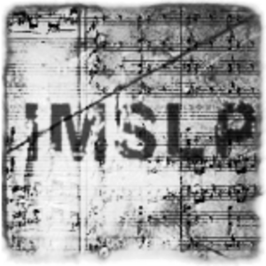 International Music Score Library Project - IMSLP logo (2007–2015)