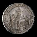INC-1465-a Талер Зальцбург Парис фон Лондрон 1628 г. (аверс).png