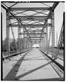 INTERIOR OF SPAN, LOOKING NORTHEAST - Meadow Hill Drive Bridge, Spanning Wilson Creek, Menomonie, Dunn County, WI HAER WIS,17-MENO,1-8.tif