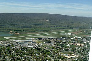 Williamsport Regional Airport - Image: IPT from the air