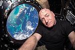 ISS-44 Scott Kelly seen inside the Cupola.jpg
