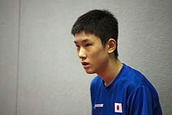 ITTF World Tour 2017 German Open Harimoto Tomokazu 01.jpg