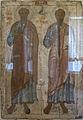 Icone, santi apostoli pietro e paolo, XIII sec, dalla chiesa dei santi pietro e paolo, belozersk.JPG