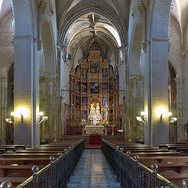 File:Iglesia de Santa Ana (Sevilla). Nave central.jpg