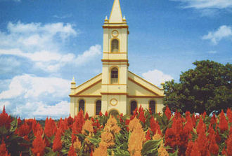 Goiás - Dom Bosco Church in Catalão.
