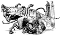 Illustrations inset at page 14 of Indian Fairy Tales (1892).png