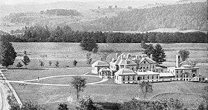 Dartmouth–Hitchcock Medical Center - Mary Hitchcock Memorial Hospital in Hanover, circa 1887