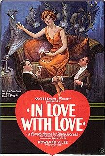 <i>In Love with Love</i> (film) 1924 film