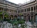 Inde Bikaner Vieille Ville Hotel Bhanwar Niwas Cour - panoramio.jpg