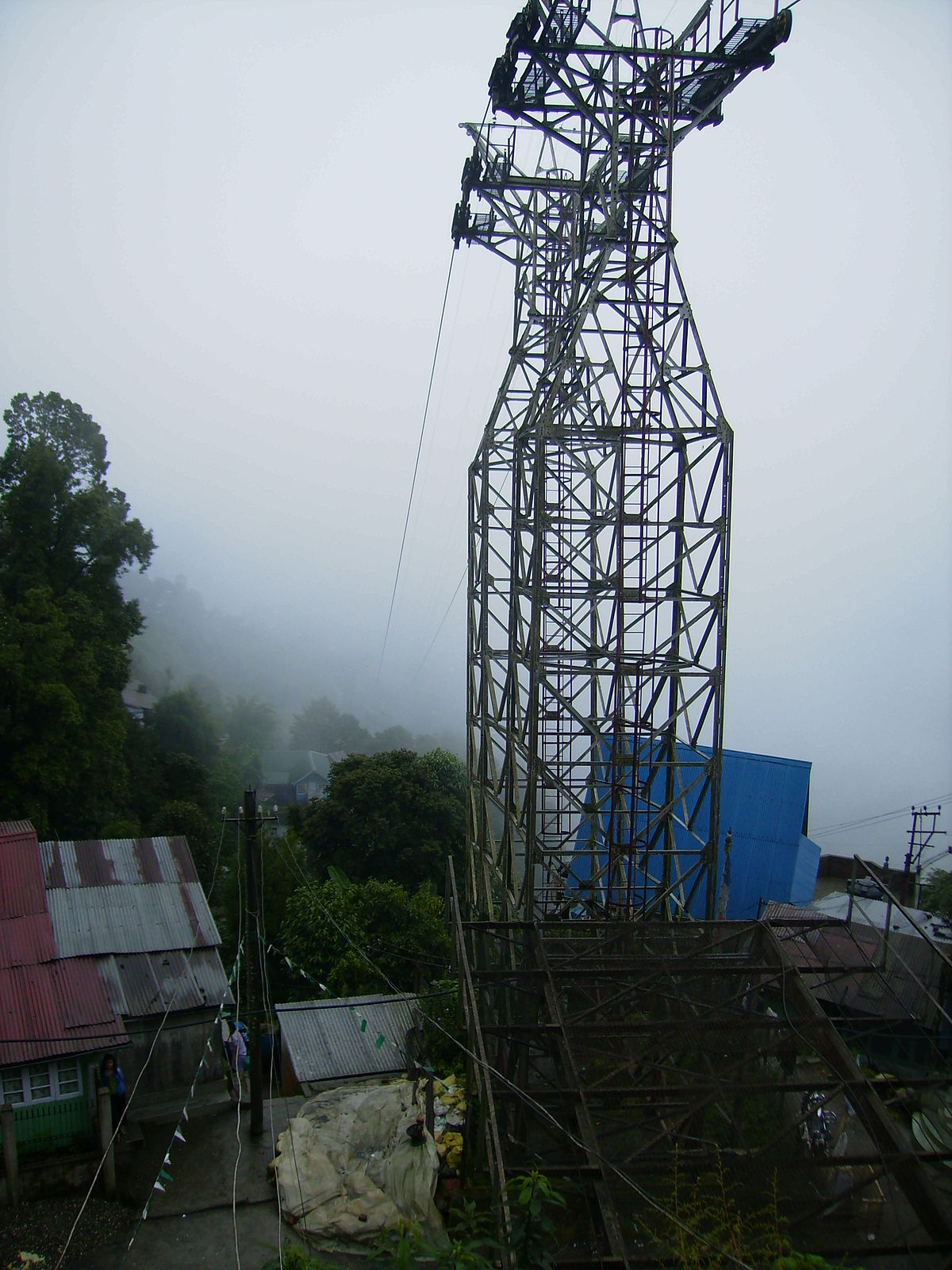 1 Point Safety >> Darjeeling Ropeway - Wikipedia