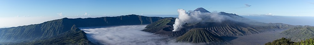 Tengger Caldera and Mount Bromo Volcano