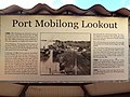 Information bay about the Port of Mobilong. Now it is the Port of Murray Bridge, South Australia. (9158516056).jpg