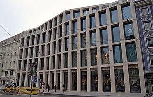 English: shopping center Tyrol in Innsbruck, f...