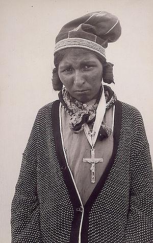 Sheshatshiu - Woman from Sheshatshiu, 1930s.