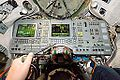 Inside the Soyuz spacecraft. -interstellar today. (15910842905).jpg