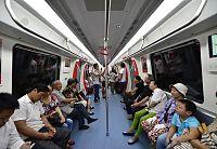 Inside train, Wuxi Metro Line 1 20140705.jpg