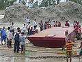 Installation of Experimental floating landing station at Meghai-Jamuna Adarsha ghat, Sirajganj 38.JPG