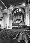 interieur, preekstoel en orgel - groningen - 20093160 - rce