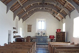 Church of the Holy Cross, Mwnt - Interior