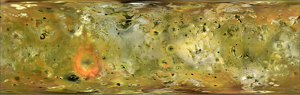 Io from Galileo and Voyager missions