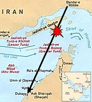 Iran Air 655 Strait of hormuz 80