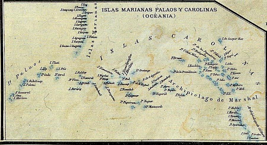 Islas Marianas Palaos y Carolinas