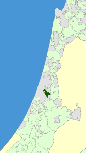 Israel Map - Emek Lod Regional Council Zoomin.svg