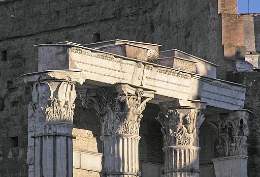 ItaliaRomaForoAugustoTempioArchitrave