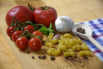 Italian cuisine - Some typical ingredients of Italian cuisine