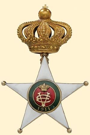 Colonial Order of the Star of Italy cover