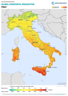 Solar power in Italy Overview of solar power in Italy