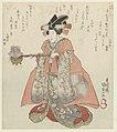 Iwai Hanshirô VI in de rol van Ayaori met een keteltje-Rijksmuseum RP-P-1958-481.jpeg