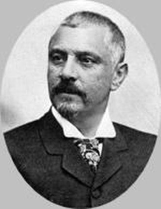 Federalist Riograndense Revolution - Júlio de Castilhos, president-dictator of the state of Rio Grande do Sul.