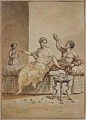 Meal of Bacchus and Ariadne