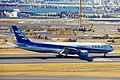 JA8198 B777-281 ANA (777 tail) HND 13JAN99 (6777881215).jpg