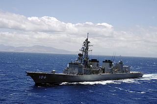A ship class of the 2nd-generation general-purpose destroyers of the JMSDF.