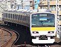 JR East E231 Chuo-Sobu Line A520 20141213.jpg