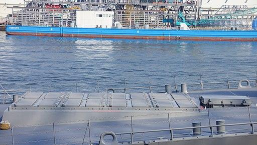 JS Atago(DDG-177) Mk.41 Mod20 VLS in Tenpouzan Port 20140426