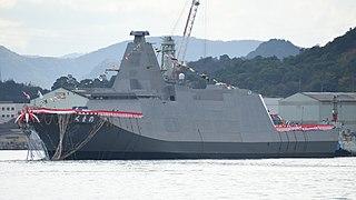 JS <i>Kumano</i> 30DX-class frigate