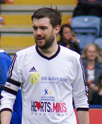 Jack Whitehall - Whitehall in 2014, playing in a charity football match