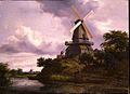 Jacob van Ruisdael - Landscape with a windmill by a river.jpg
