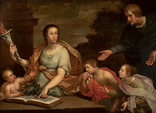 Allegory of teaching.