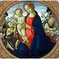 Jacopo del sellaio, Madonna and Child with Infant St John the Baptist and Attending Angel.jpg