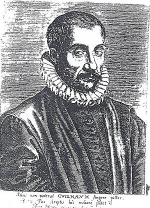 Jacques Guillemeau - Drawing of Jacques Guillemeau (1550-1613)