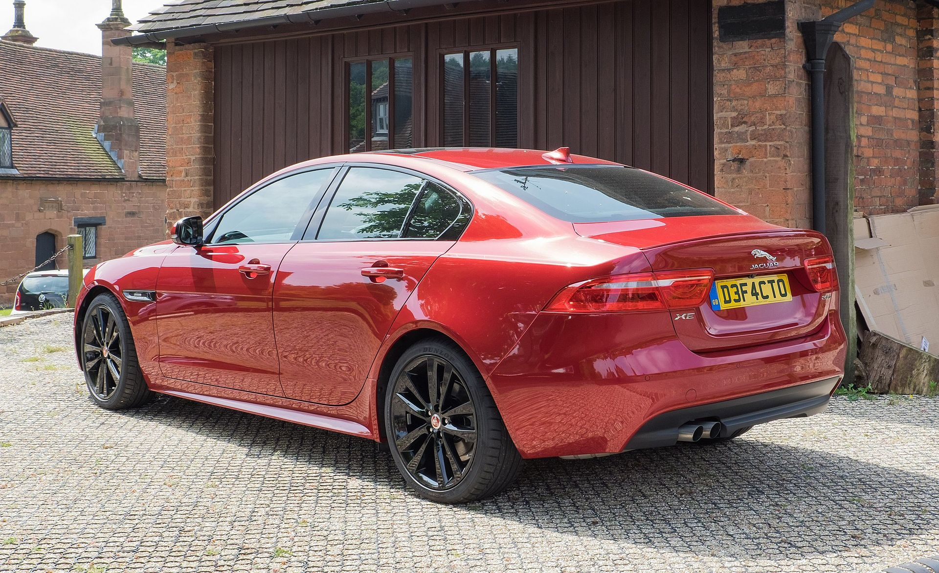 Jaguar XE 25t (US) 2.0t 247hp ($35,725) 20d (UK) 2.0d (diesel) 163hp  ($36,412)