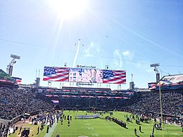 The Star-Spangled Banner performed before a Jaguars game at EverBank Field  in 2015. a80fca611