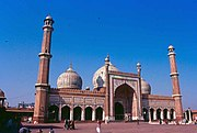 Jama Masjid, is the largest mosque in India.