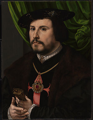 Luis de Narváez - Francisco de los Cobos, Narváez's most important patron, painted by Jan Gossaert in c. 1530